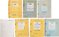 Movie/TV Memorabilia:Documents, Prisoner of Zenda and All the Brothers Were ValiantScript Collection.... (Total: 9 )