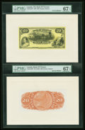 Canadian Currency: , Toronto, ON- The Bank of Toronto $20 Jan. 2, 1935 Ch. # 715-24-14PFace and Back Proofs. ... (Total: 2 notes)