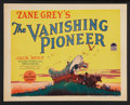 """Movie Posters:Western, The Vanishing Pioneer (Paramount, 1928). Title Lobby Card and LobbyCard (11"""" X 14""""). Western.. ... (Total: 2 Items)"""