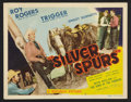 "Movie Posters:Western, Silver Spurs (Republic, 1943). Lobby Card Set of 8 (11"" X 14""). Western.. ... (Total: 8 Items)"