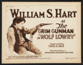"""Movie Posters:Western, Wolf Lowry (Enterprise Distributing, R- Early 1920s). Title Lobby Card (11"""" X 14""""). Western.. ..."""