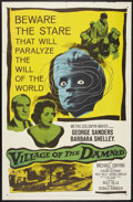 """Movie Posters:Science Fiction, Village of the Damned (MGM, 1960). One Sheet (27"""" X 41""""). Science Fiction.. ..."""