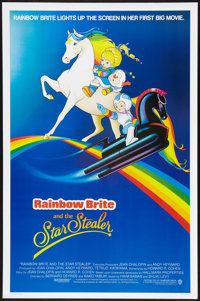 """Rainbow Brite and the Star Stealer (Warner Brothers, 1985). One Sheet (27"""" X 41""""). Animated"""