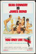 "Movie Posters:James Bond, You Only Live Twice (United Artists, 1967). One Sheet (27"" X 41"")Style C. James Bond.. ..."