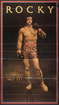 "Movie Posters:Sports, Rocky (United Artists, 1977). CBS Television Premiere Poster (32.5"" X 60.5""). Sports.. ..."