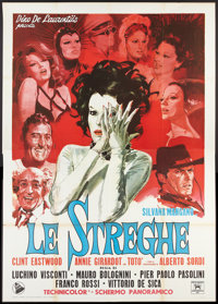 "The Witches (Dear Films, 1966). Italian 4 - Folio (55"" X 78""). Drama"