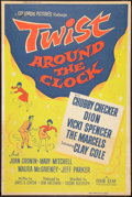 "Movie Posters:Rock and Roll, Twist Around the Clock (Columbia, 1962). Poster (40"" X 60""). Rockand Roll.. ..."