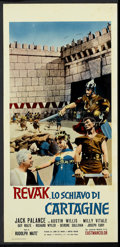 "Movie Posters:Adventure, The Barbarians Lot (NBC, 1960). Italian Locandinas (7) (13"" X 27"").Adventure.. ... (Total: 7 Items)"