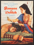 "Movie Posters:Adventure, Samson and Delilah (Paramount, 1949). Program (Multiple Pages) (9""X 12""). Adventure.. ..."