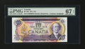 Canadian Currency: , BC-49a $10 1971 Dual Courtesy Autograph.. ...