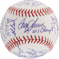 Autographs:Baseballs, 1969 New York Mets Reunion Team Signed Baseball. ...