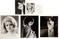 Movie/TV Memorabilia:Autographs and Signed Items, Sarah Jessica Parker, Carrie Fisher, and Other Actresses SignedPhotos.... (Total: 6 )
