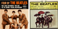 Music Memorabilia:Recordings, Beatles EP Group (Capitol, 1964-65).... (Total: 2 Items)
