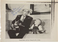 Music Memorabilia:Autographs and Signed Items, Hank Williams Autograph Sheet Music Page....