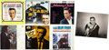 Music Memorabilia:Autographs and Signed Items, Johnny Cash Autographed Photo and LP Group (1956-64).... (Total: 7Items)