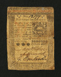 Colonial Notes:Pennsylvania, Pennsylvania October 1, 1773 15s Very Good-Fine....