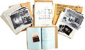 Movie/TV Memorabilia:Documents, Assorted Set Design Documents Archive.... (Total: 3 )