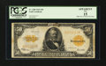 Large Size:Gold Certificates, Fr. 1200 $50 1922 Gold Certificate PCGS Apparent Fine 15....