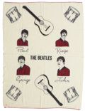 Music Memorabilia:Memorabilia, The Beatles Vintage Blanket....