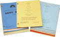 Movie/TV Memorabilia:Documents, Happy Days Television Script Collection.... (Total: 150 )