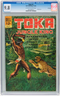 Silver Age (1956-1969):Adventure, Toka #1 File Copy (Dell, 1964) CGC NM/MT 9.8 Off-white to white pages....