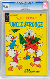 Uncle Scrooge #110 File Copy (Gold Key, 1974) CGC NM+ 9.6 Off-white to white pages