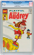 Silver Age (1956-1969):Humor, Playful Little Audrey #10 File Copy (Harvey, 1959) CGC NM- 9.2Cream to off-white pages....