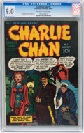 Golden Age (1938-1955):Crime, Charlie Chan #2 (Crestwood/Headline, 1948) CGC VF/NM 9.0 Off-white to white pages....