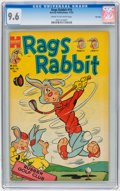 Golden Age (1938-1955):Funny Animal, Rags Rabbit Comics #16 File Copy (Harvey, 1953) CGC NM+ 9.6 Creamto off-white pages....
