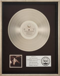 Music Memorabilia:Awards, Beatles Related - John Lennon and Yoko Ono Double FantasyRIAA Platinum Album Award....