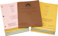 Movie/TV Memorabilia:Documents, Laverne & Shirley Television Script Collection.... (Total: 150 )