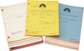 Movie/TV Memorabilia:Documents, Mork & Mindy Television Script Collection.... (Total:300 )