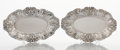Silver & Vertu:Hollowware, A PAIR OF AMERICAN SILVER BREAD TRAYS. Reed & Barton, Taunton, Massachusetts, circa 1907. Marks: REED & BARTON, STERLING, ... (Total: 2 Items)