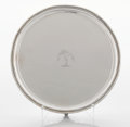 Silver Holloware, British:Holloware, A GEORGE IV SILVER SALVER. Paul Storr, London, England, 1829-1830.Marks: (lion passant), (leopard's head), (duty mark), P...