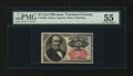Fractional Currency:Fifth Issue, Fr. 1309 25¢ Fifth Issue PMG About Uncirculated 55....