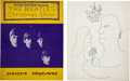 Music Memorabilia:Memorabilia, The Beatles Christmas Show Tour Books.... (Total: 2 Items)