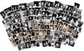 Movie/TV Memorabilia:Photos, Irv Steinberg Candid Shots of Stars - Over 100 in All. ...