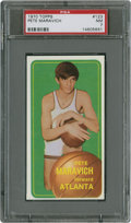 Basketball Cards:Singles (1970-1979), 1970-71 Topps Pete Maravich #123 PSA NM 7....