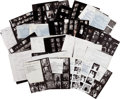 Movie/TV Memorabilia:Photos, Cary Grant, Paul Newman, Bette Davis, and Other Stars, Proof Sheets by Irv Steinberg....