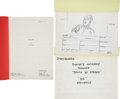 Movie/TV Memorabilia:Documents, The Lost Boys Script and Printed Storyboards Group....(Total: 3 )