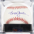 Autographs:Baseballs, Reggie Jackson Single Signed Baseball PSA Mint 9. ...