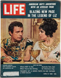 Baseball Collectibles:Publications, 1962 Life Magazine with Mantle and Maris Post Cereal Cards....