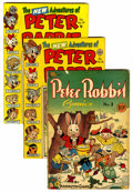 Golden Age (1938-1955):Funny Animal, Peter Rabbit Comics Group (Avon, 1948-56) Condition: Average VG....(Total: 9 Comic Books)