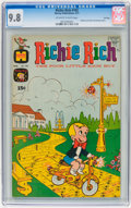 Bronze Age (1970-1979):Cartoon Character, Richie Rich #103 File Copy (Harvey, 1971) CGC NM/MT 9.8 Off-whiteto white pages....