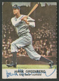 Autographs:Sports Cards, 1961 Golden Press Hank Greenberg #4 Signed Card. ...