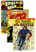 Golden Age (1938-1955):Science Fiction, Space Adventures and Space War Group (Charlton, 1954-78) Condition:FN.... (Total: 8 Comic Books)