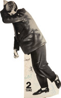 Music Memorabilia:Autographs and Signed Items, The Selecter Band-Signed 5' Promo Standee....