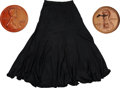 Movie/TV Memorabilia:Costumes, Bernadette Peters' Pennies From Heaven Costume Skirt andHats.... (Total: 3 )
