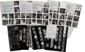 Movie/TV Memorabilia:Photos, Grammy Awards Proof Sheets from Photographer Irv Steinberg. ...