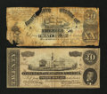 Confederate Notes:1864 Issues, T67 $20 1864.. ... (Total: 2 notes)